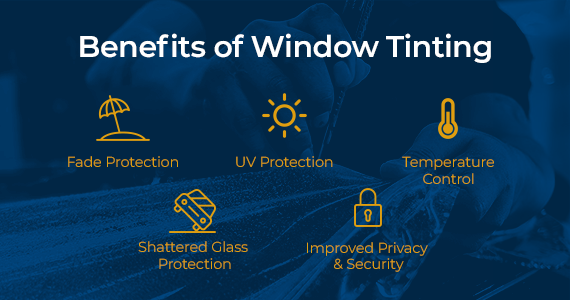 benefits of car window tinting